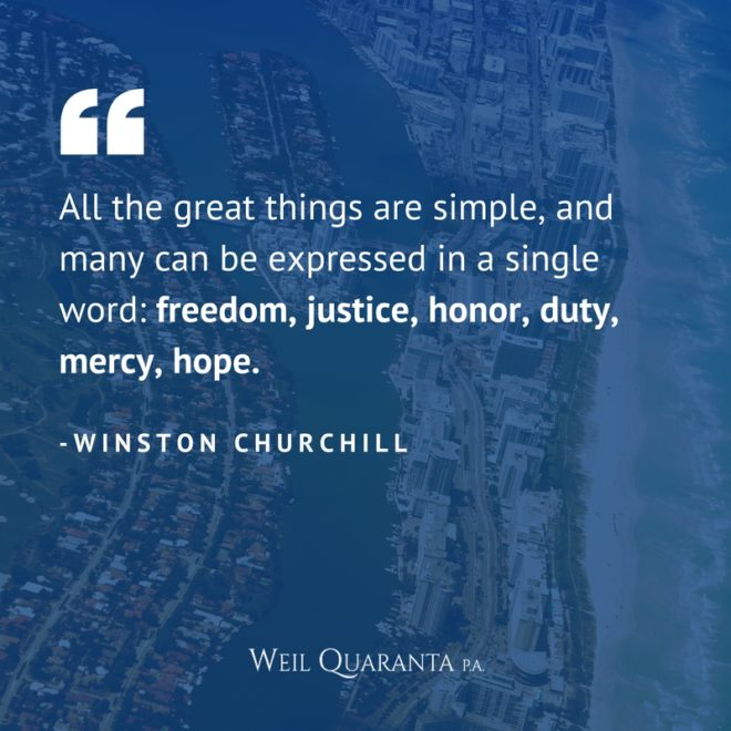 Weil Quote Winston Churchill
